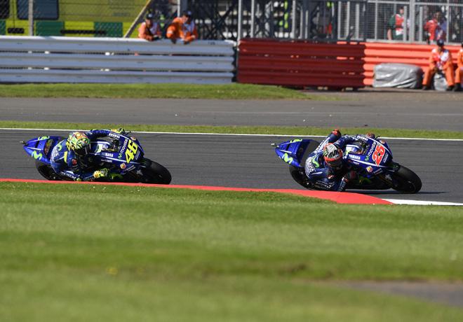 MotoGP - Silverstone 2017 - Valentino Rossi y Maverick Vinales - Movistar Yamaha MotoGP