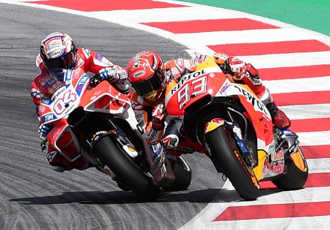 MotoGP - Spielberg 2017 - Andrea Dovizioso - Ducati - Marc Marquez - Honda