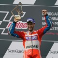 MotoGP - Spielberg 2017 - Andrea Dovizioso en el Podio