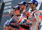 MotoGP - Spielberg 2017 - Marc Marquez - Andrea Dovizioso - Dani Pedrosa en el Podio