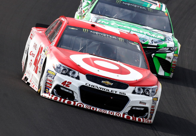 NASCAR - Michigan 2017 - Kyle Larson - Chevrolet SS