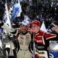 TC - Buenos Aires 2017 - 1000 km - Juan Manuel Silva y Juan Tomas Catalan en el Podio