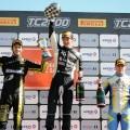 TC2000 - San Luis 2017 - Carrera Final - Santiago Mallo - Marcelo Ciarrochi - Federico Iribarne en el Podio