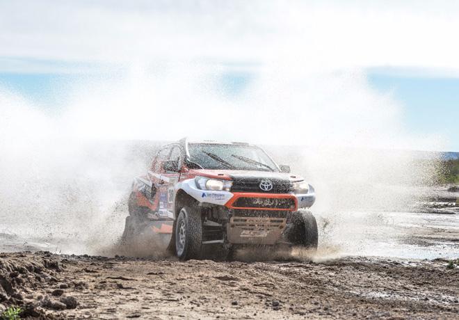 Toyota se prepara para la aventura en el Desafio Ruta 40 Norte 1