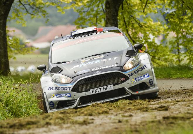 WRC en Alemania – Día 2: Tänak lidera en el asfalto mojado.