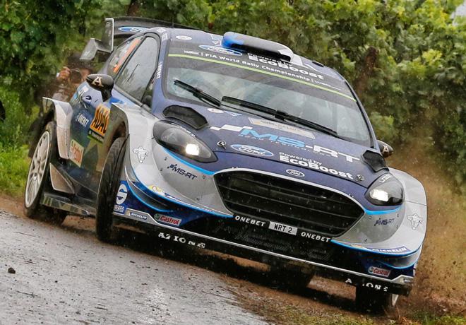 WRC - Alemania 2017 - Dia 3 - Ott Tanak - Ford Fiesta WRC