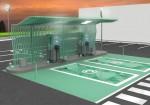 YPF instalo los primeros surtidores electricos en el pais 3