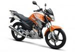 Yamaha YBR 125Z Naranja