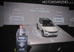 Antonio Filosa en la presentacion del Nuevo Jeep Compass