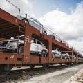 Audi transporta sus autos y autopartes en trenes libres de emisiones de CO2 1