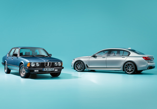 BMW Serie 7 Edition 40 Jahre