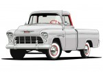 Chevrolet - Iconic Trucks - 1955 Cameo Carrier
