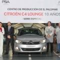 Citroen presenta la Serie Especial C4 Lounge 10 Anios