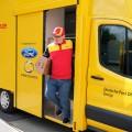 DHL y Ford presentaron la furgoneta electrica de reparto StreetScooter WORK XL 1
