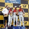 DTM - Spielberg 2017 - Carrera 2 - Mike Rockenfeller - Rene Rast - Nico Muller en el Podio
