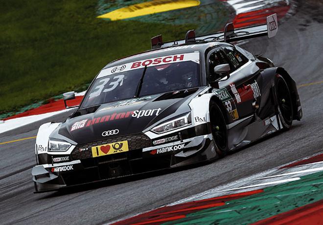 DTM - Spielberg 2017 - Carrera 2 - Rene Rast - Audi RS5