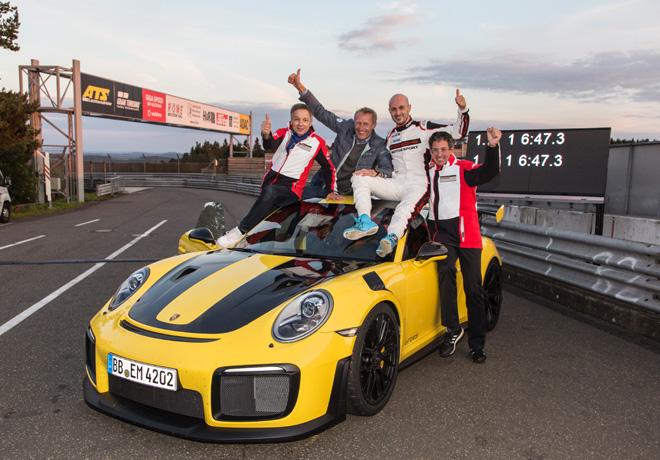 El GT2 RS se convierte en el Porsche 911 mas rapido de todos los tiempos 2