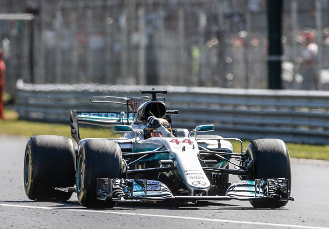 F1 - Italia 2017 - Carerra - Lewis Hamilton - Mercedes GP