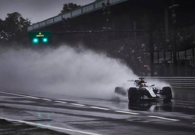F1 - Italia 2017 - Clasificacion - Lewis Hamilton - Mercedes GP