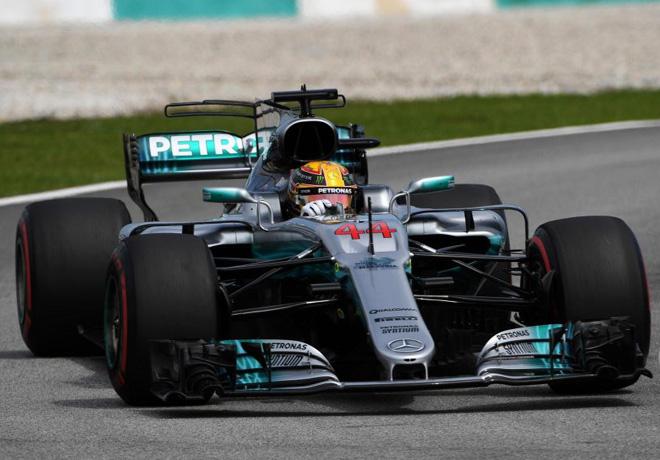 F1 - Malasia 2017 - Clasificacion - Lewis Hamilton - Mercedes GP