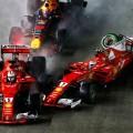 F1 - Singapur 2017 - Carrera - Incidente entre Sebastian Vettel - Kimi Raikkoinen - Max Verstappen