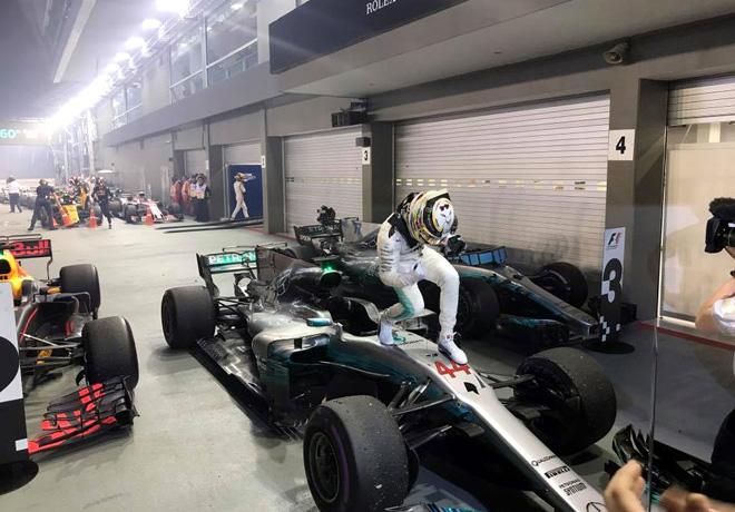 F1 - Singapur 2017 - Carrera - Lewis Hamilton - Mercedes GP