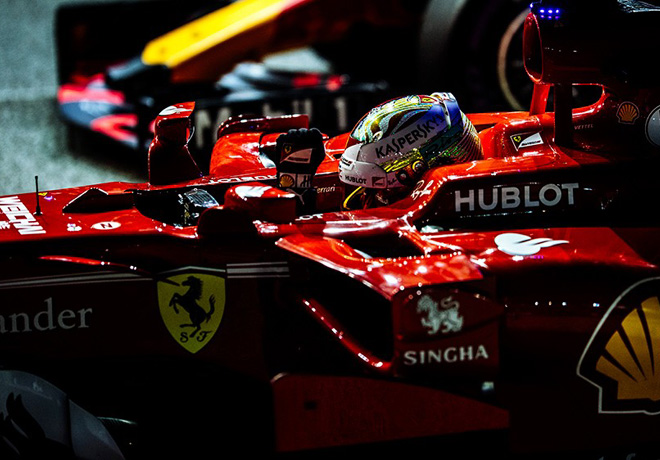F1 - Singapur 2017 - Clasificacion - Sebastian Vettel - Ferrari