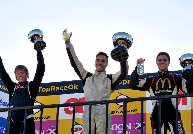 Fórmula Renault en General Roca – Carrera 2: El domingo fue de Esteban Fernández.