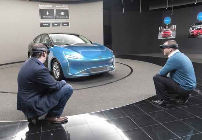 Ford utiliza la tecnologia de realidad mixta Microsoft HoloLens