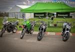 Kawasaki Argentina presento oficialmente los modelos Versys-X 300 ABS y la Z650 ABS 2
