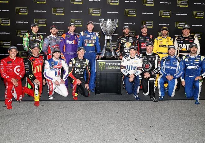 NASCAR - Richmond 2017 - Los 16 pilotos de los Playoffs