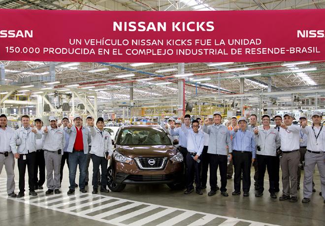 El Complejo Industrial de Nissan en Resende alcanza una marca histórica.