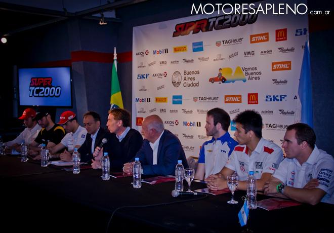 STC2000 - Presentacion de los 200km de Buenos Aires en el Autodromo Oscar y Juan Galvez
