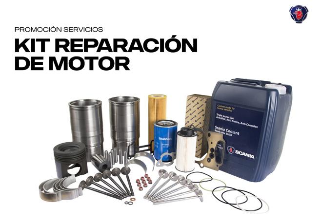 Scania - Kit de reparacion de motor