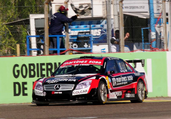 Top Race - General Roca 2017 - Carrera A - Agustin Canapino - Mercedes-Benz