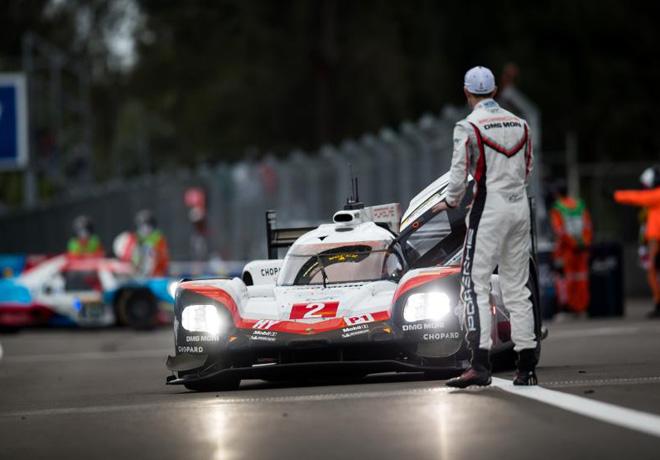 WEC - 6 hs de Mexico 2017 - Brendon Hartley - Timo Bernhard - Earl Bamber - Porsche 919 Hybrid