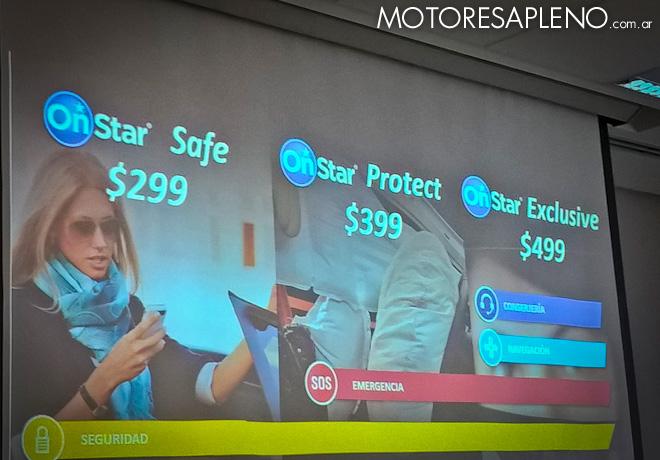 Chevrolet comunico los Planes OnStar en Argentina 3