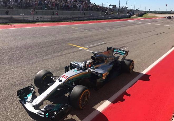 F1 - Estados Unidos 2017 - Carrera - Lewis Hamilton - Mercedes GP
