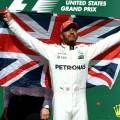 F1 - Estados Unidos 2017 - Clasificacion - Lewis Hamilton en el Podio