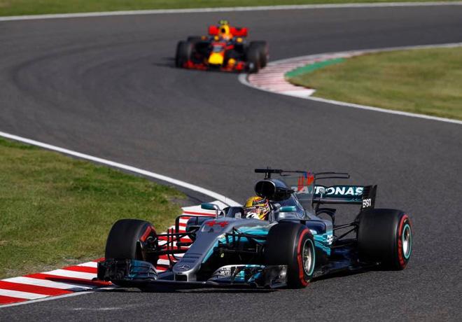 F1 - Japon 2017 - Carrera - Lewis Hamilton - Mercedes GP