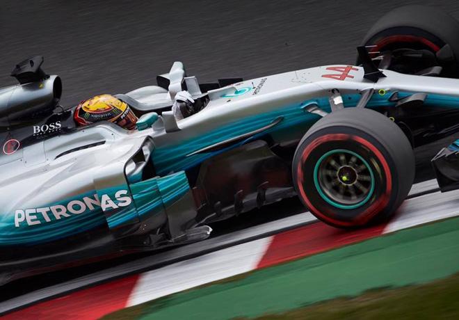 F1 - Japon 2017 - Clasificacion - Lewis Hamilton - Mercedes GP