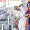F1 - Japon 2017 - Clasificacion - Max Verstappen - Lewis Hamilton - Daniel Ricciardo en el Podio