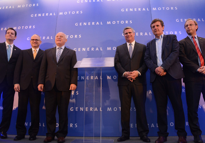 GM anuncio nueva inversion en la Argentina 1
