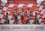 MotoGP - Motegi 2017 - Marc Marquez - Andrea Dovizioso - Danilo Petrucci en el Podio