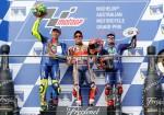 MotoGP - Phillip Island 2017 - Valentino Rossi - Marc Marquez - Maverick Vinales en el Podio