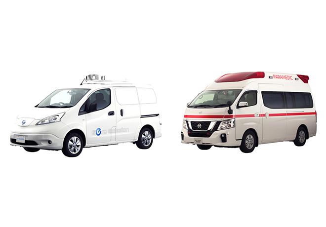 Nissan Paramedic Concept y e-NV200 Fridge Concept