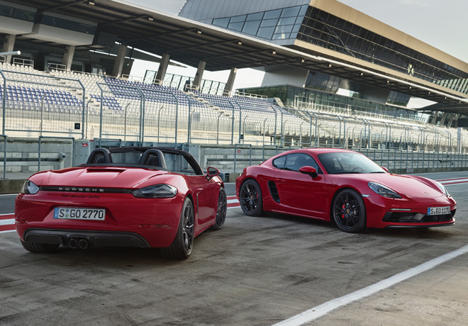 Porsche 718 Boxster GTS y 718 Cayman GTS 1