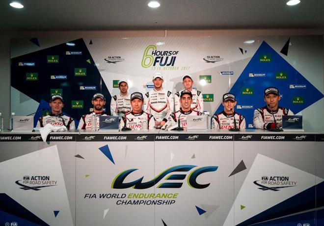 WEC - 6 hs de Fuji 2017 - Conferencia de prensa final