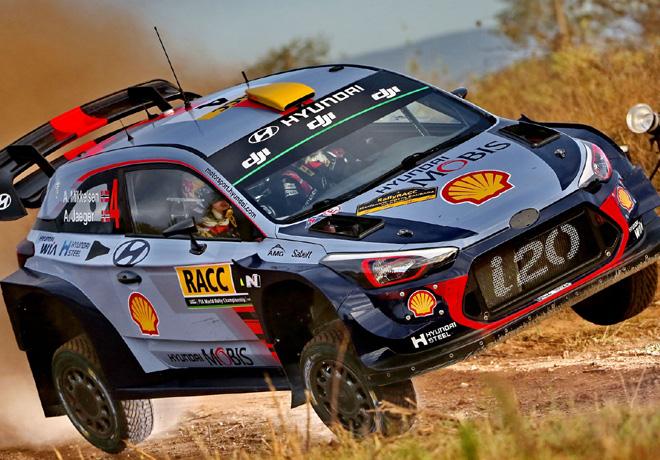 WRC - Catalunya 2017 - Dia 1 - Andreas Mikkelsen - Hyundai i20 WRC