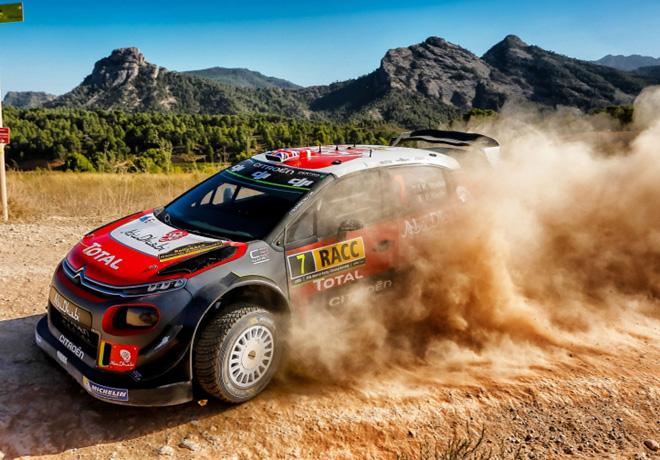 WRC - Catalunya 2017 - Dia 2 - Kris Meeke - Citroen C3 WRC